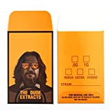 100 The Dude Extracts Concentrate Retro Stoner Movie Style Shatter Envelopes #089