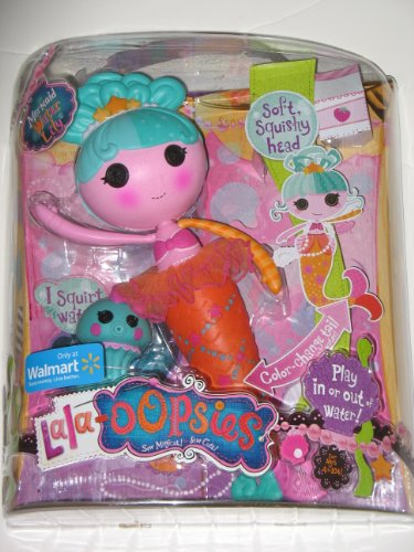 Lalaloopsy Lala Oopsies Mermaid Water Lily Exclusive Doll