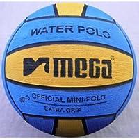mega Water Polo Ball, Misura 3, Blu-Giallo Mini Polo Ball