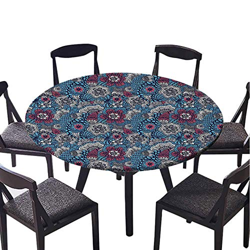 Home luxury round tablecloth-45