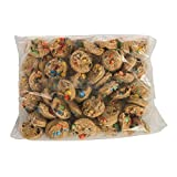 Otis Spunkmeyer Gourmet M and M Chocolate Bagged Cookie Dough, 5 Pound -- 4 per case.