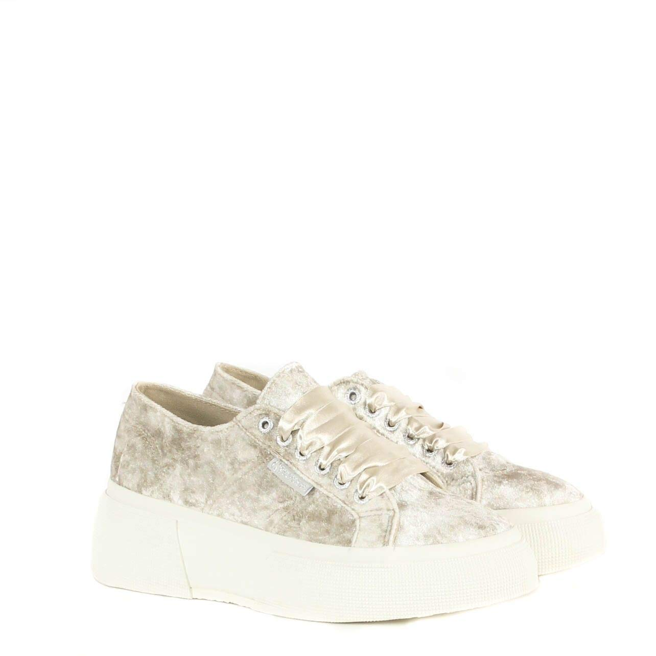 Superga Shining Wrinkled Turnschuhe Winter 2018 Damen