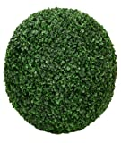 ONE 20'' ARTIFICIAL BOXWOOD BALL INDOOR OUTDOOR TOPIARY PLANT