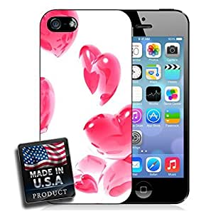 Pink Hearts Balloons iPhone 5/5s Hard Case