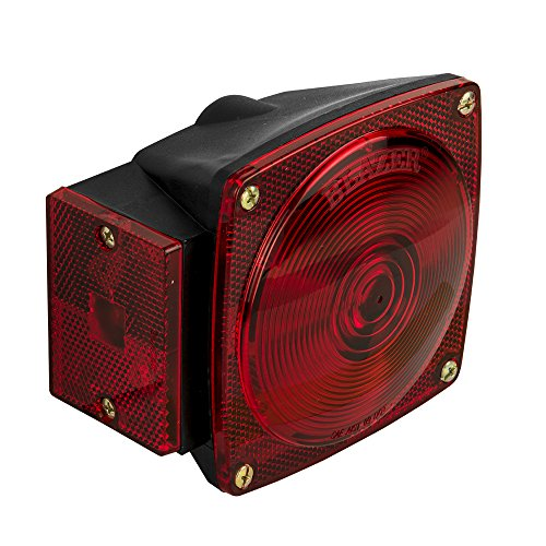 028845003116 - Blazer C6423 Square Trailer Light Kit - Red carousel main 5