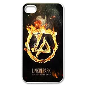 Custom High Quality WUCHAOGUI Phone case Linkin Park Music Band Protective Case For Iphone 4 4S case cover - Case-12
