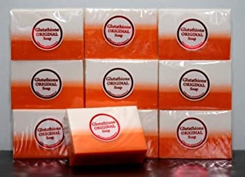 Glutathione and Kojic Acid Soap in one PACK OF 10 by DERMALINE