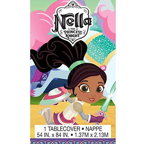 - Nella the Princess Knight Plastic Table Cover (1ct)