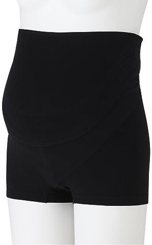 FUN fun Women's Maternity Pregnancy Belt Pants Type M Black