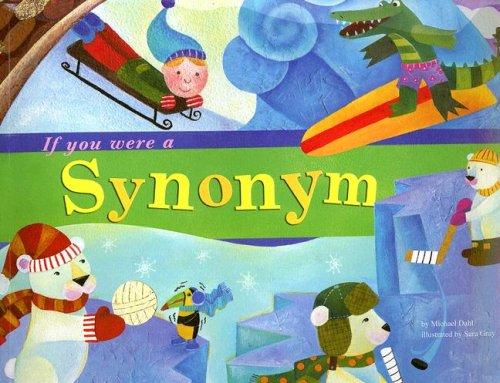 If You Were A Synonym  Word Fun