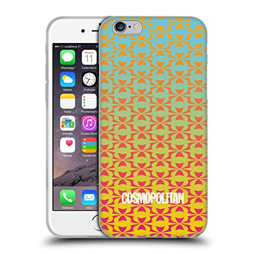 Official Cosmopolitan Ombre 10 Fun Summer Soft Gel Case for Apple iPhone 6 / 6s