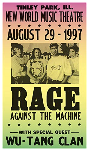 (Per Diem Printing Rage Against The Machine - New World Music Theatre - 13