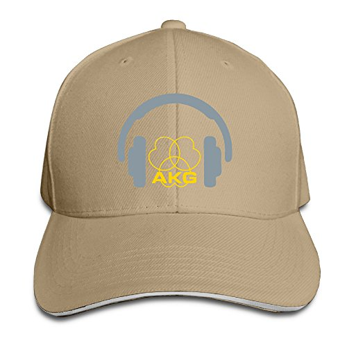 Price comparison product image Hhil Swater Unisex Headphones Heart Lines AKG Peaked Baseball Cap Eight Kinds Of Color Can Choose Suitable For Four Seasons Wear