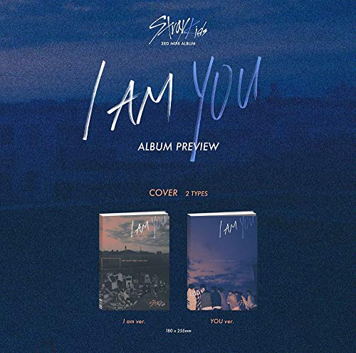 Stray Kids - I am You [Random ver ] (3rd Mini Album) CD+Photobook+3 QR  Photocards+Official Group Folded Poster+Extra Photocard