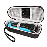 Braun Series 3 340s4 - Hard Travel Case for Braun Series 3 ProSkin 3040s 3010S 340S-4 3050 390CC-4 380S-4 3040 Men's Wet Dry Electric Razor Shavers by Caseogy