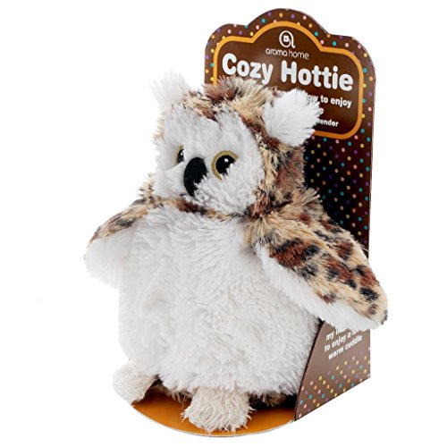 Aroma Home Aromahome Cozy Hottie Wise Owl Aromatherapy Lavender Tummy Insert Plush Animal (Microwave Heating Stuffed Animals compare prices)