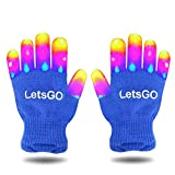 My-My for 5-10 Years Old Kids, Finger Light Flashing Led Gloves Fun Toys for 3-10 Year Old Kids Christmas Toys 2018 for Girls Boys Blue MMJSST66