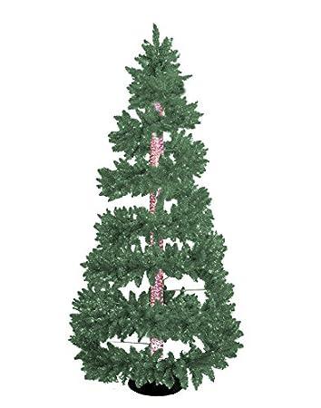 Amazon.com: New 6.5 Ft. Green Bubble Christmas Tree with LED 7 ...