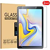 [2 Pack] Samsung Galaxy Tab A 8.0 2018 SM-T387 Screen Protector, KATIAN HD Clear [Anti-Scratch] [No-Bubble] 9H Tempered Glass Screen Film for Samsung Galaxy Tab A 8.0 2018 SM-T387