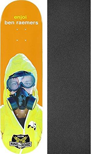 直面するさせる半円Enjoi Skateboards Ben Raemers King of the Roadスケートボードデッキresin-7 – 8.25