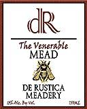 "NV De Rustica Meadery ""The Venerable"" Mead 750 mL"