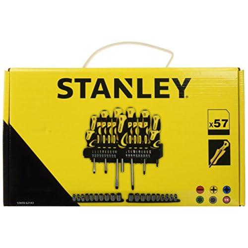 chollos oferta descuentos barato STANLEY STHT0 62143 Set de 57 piezas destornilladores y puntas de destornillador