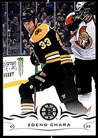 2b253c2aa 2018-19 Upper Deck Hockey Series Two  269 Zdeno Chara Boston Bruins  Official UD