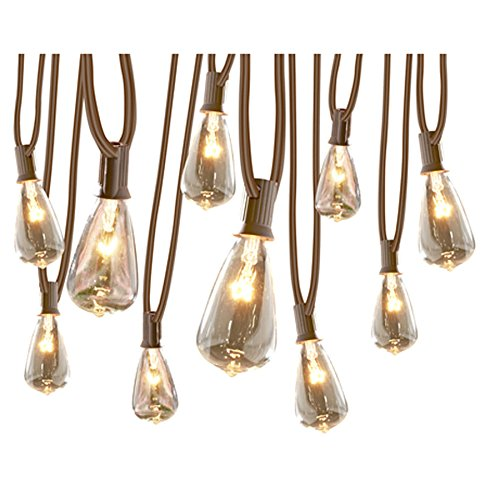 Price comparison product image allen + roth 13-ft 10-Light White Plug-in Bulbs String Lights