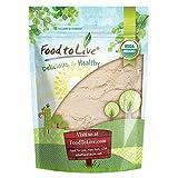 Organic Coconut Flour, 8 Ounces - Non-GMO, Kosher, Raw, Vegan, Unsweetened, Unrefined, Unsulfured Fine Powder, Bulk, Great for Baking