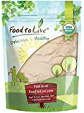 Organic Coconut Flour by Food to Live (Non-GMO, Kosher, Raw, Vegan, Unsweetened, Unrefined, Unsulfured Fine Powder, Bulk, Great for Baking) — 2 Pounds