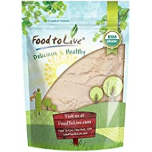 Food to Live Organic Coconut Flour by (Non-GMO, Kosher, Raw, Vegan, Unsweetened, Unrefined, Unsulfured Fine Powder, Bulk, Great for Baking) — 2 Pounds