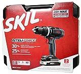 skil impact drill - Skil 2899LI-04 20V Max Lithium Ion Pro-Series Cordless Drill Kit