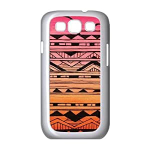 Aztec Tribal Pattern Customized Cover Case for Samsung Galaxy S3 I9300,custom phone case ygtg536506
