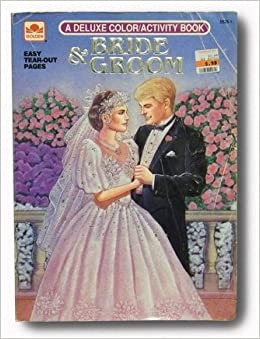 Bride & Groom (Special Edition Coloring Book): Golden Books ...