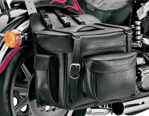 All American Rider XXXL Box-Style Detachable Saddlebag - Plain 9902P (All American Rider)