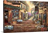 Ruane Manning Premium Thick-Wrap Canvas Wall Art Print entitled French Town