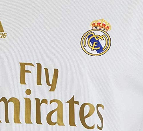 #7 Hazard Soccer Jersey Real Madrid 2019-2020 Season Home Mens Jersey White