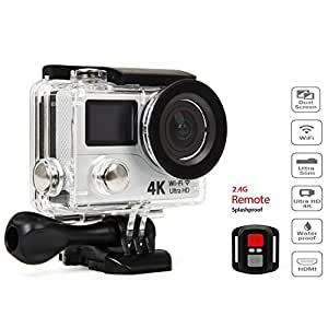 4k ultra hd wifi hdmi action sports camera sport dv dual lcd screens waterproof. Black Bedroom Furniture Sets. Home Design Ideas