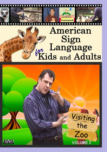 American Sign Language for Kids and Adults, Volume 2: Visiting the (Sign Language Dvd Kids)