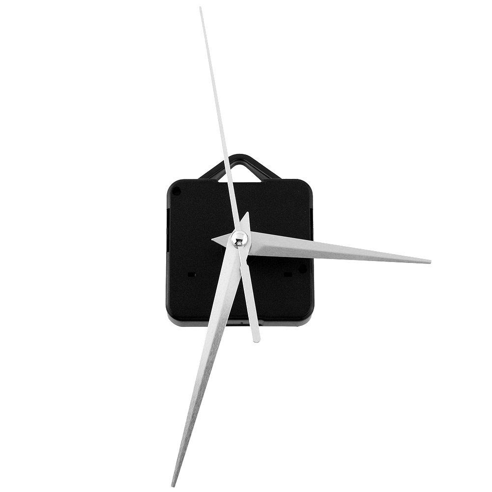 Clock Mechanism Parts - Classic Silver Triangle Hands Quartz Clock Movement Mechanism Parts Repair Replacing Essential Tools Set