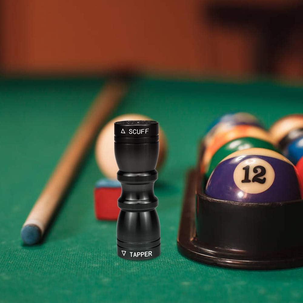 SelfTek Billar/Snooker/Pool Cue Tip Tool 3 en 1 Accesorio Cue Care ...