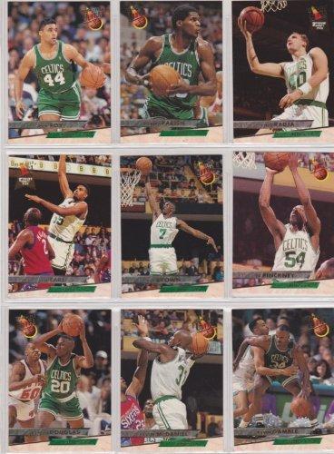 Boston Celtics 1993-94 Fleer Ultra Basketball Team Set (Series 1 & 2) (Robert Parrish) (Rick Fox) (Dino Radja Rookie) (Acie Earl) (Dee Brown) (Ed Pickney) (Sherman Douglas) (Xavier McDaniel) (Kevin Gamble) (Matt Wenstrom) (Jimmy Oliver) (Chris Corchiani) (Alaa Abdelnaby) ()