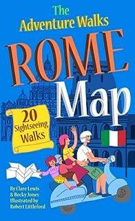 Insight Flexi Map Rome Insight Flexi Maps Amazoncouk - Rome map cartoon