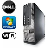 Dell 990 SFF - Intel Core i5 3.1GHz Quad Core, New 1TB Hard Drive, 4GB DDR3, Windows 7 Pro 64-Bit, WiFi, DVD-ROM (Preparedy by ReCircuit)
