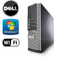 Dell 990 SFF - Intel Core i5 3.1GHz Quad Core, New 1TB Hard Drive, 4GB DDR3, Windows 7 Pro 64-Bit, WiFi, DVD-ROM (Preparedy by ReCircuit)