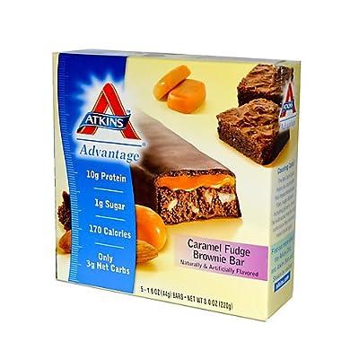 Atkins Advantage Bar 5 Bars Caramel Choco Crunch