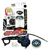 Hasbro Year 2011 Beyblade Metal Masters High Performance Battle Tops - Defense 145WD BB-104 TWISTED TEMPO with Face Bolt, Tempo Energy Ring, Twisted Fusion Wheel, 145 Spin Track, WD Performance Tip and Ripcord Launcher Plus Online Code