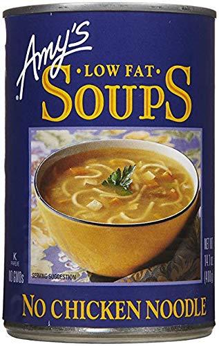 Amy's No Chicken Noodle Soup, 14.1 oz, 12 pk ()