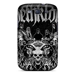 (Dhx9548glaR)durable Protection Cases Covers For Galaxy S3(dethklok)
