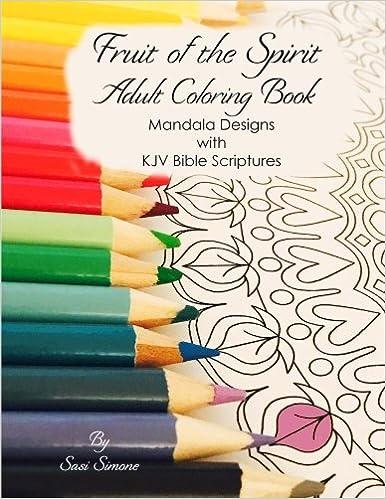 Amazon.com: Fruit of the Spirit Adult Coloring Book: Mandala Designs ...
